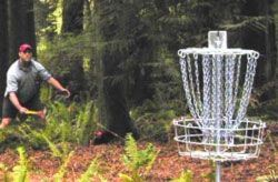 Disc Golf Player and Equipment