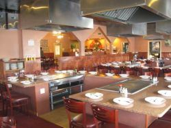 Sapporo Japanese Steakhouse and Sushi Seating
