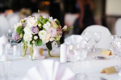 Table Center Pieces and Flowers