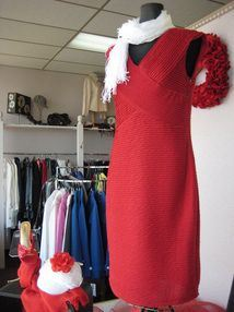 Dress on Mannequin in Store
