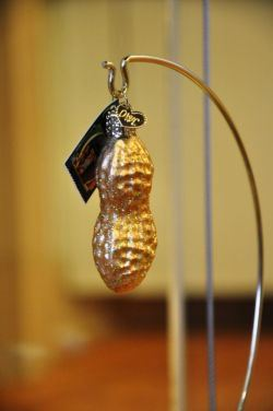 Old World Holiday Ornament - Glass Peanut