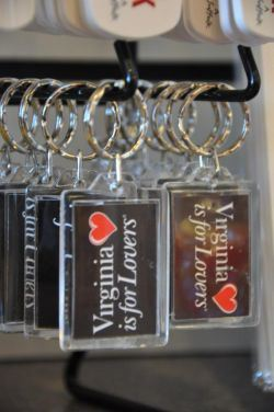 Virginia is for Lovers Keychains