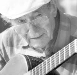 Charlie Byrd Playing Guitar